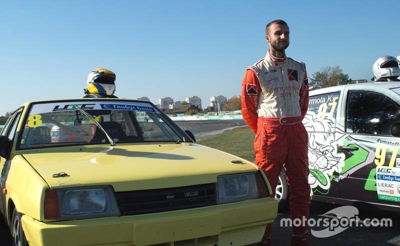 Юрій Мочанов - церемонія відкриття гонки