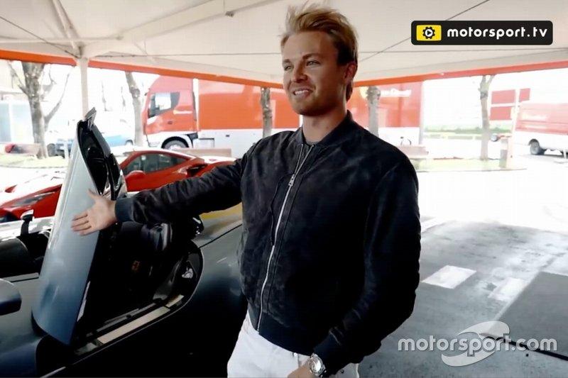 Test Rosberg Ferrari Monza SP1