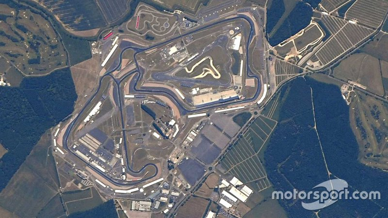 Silverstone from the Space