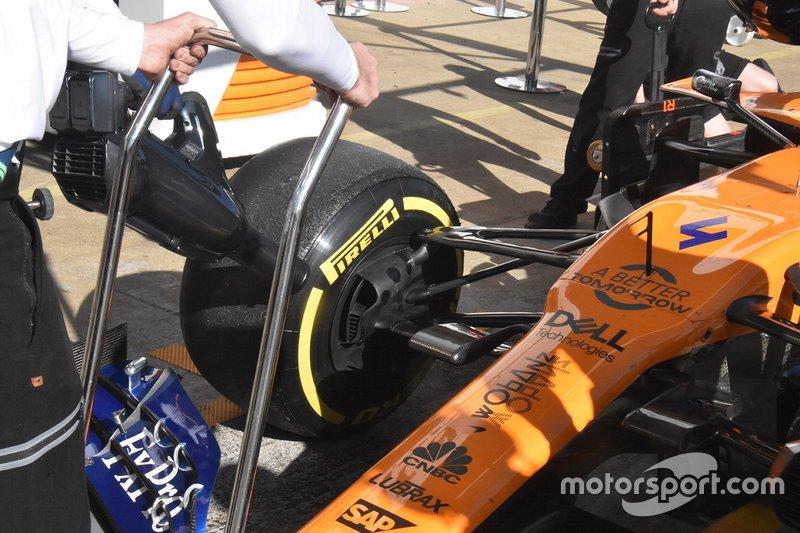 Vue détaillée de McLaren