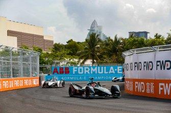 Stoffel Vandoorne, HWA Racelab, VFE-05, Jose Maria Lopez, Dragon Racing, Penske EV-3