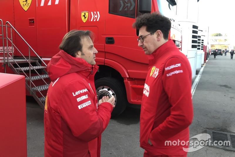 Маттіа Бінотто, Ferrari