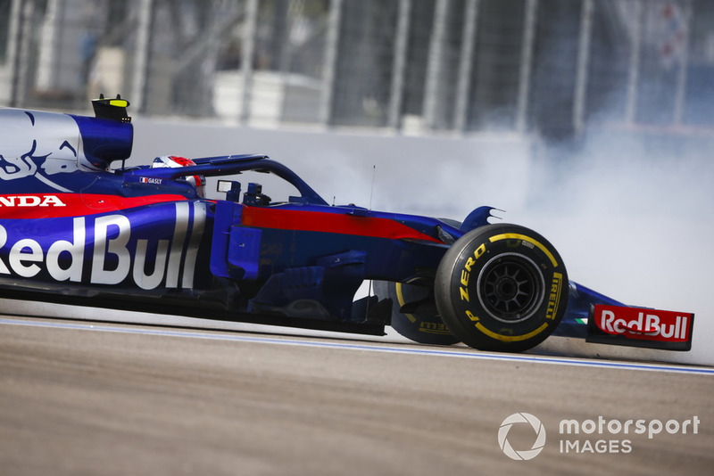 Gasly is furieus na remproblemen Toro Rosso