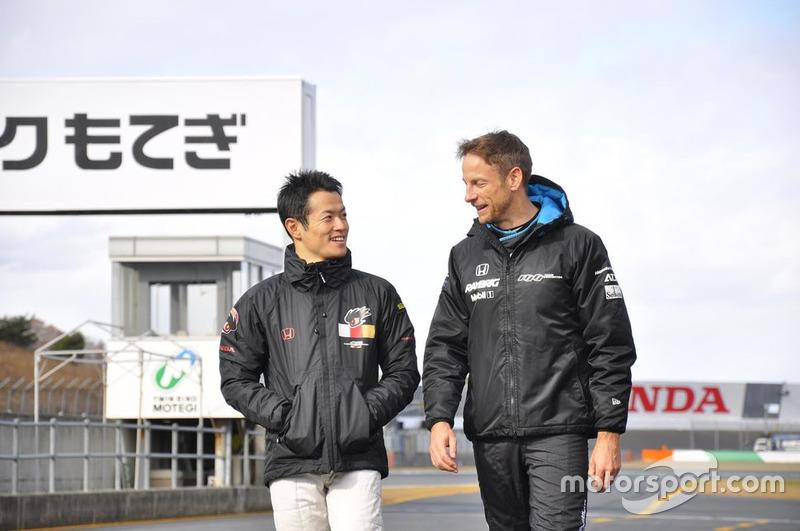 Naoki Yamamoto dan Jenson Button