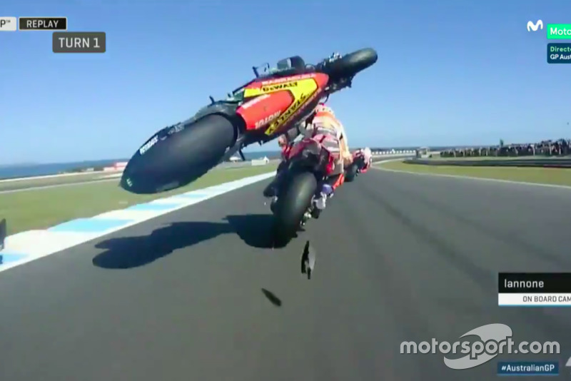 MotoGP Australia (3 Insiden)