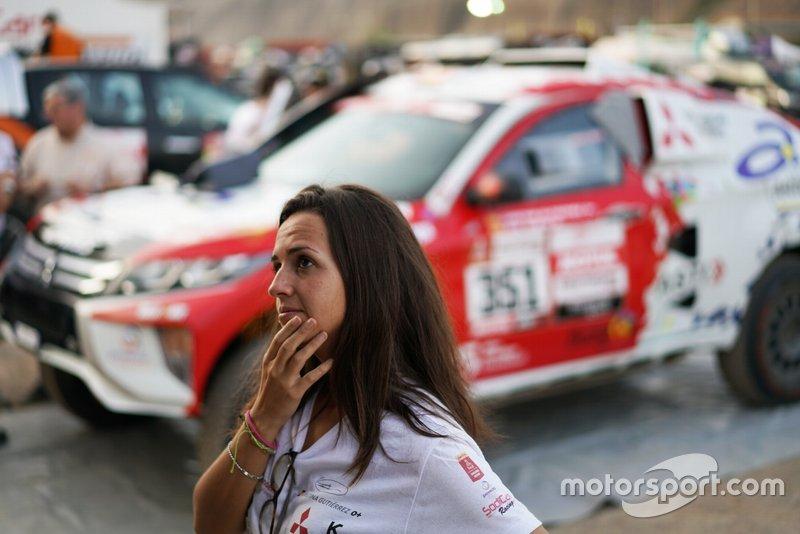 #351 Mitsubishi: Cristina Gutierrez