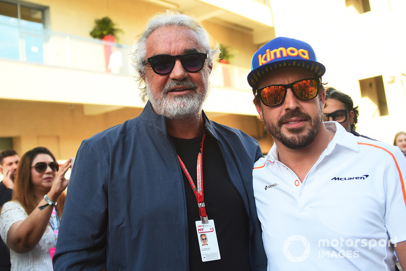Флавіо Бріаторе, Фернандо Алонсо, McLaren