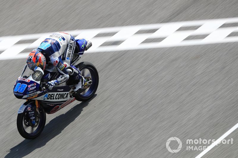 Moto3 Thailand: Kualifikasi 13, finis 4