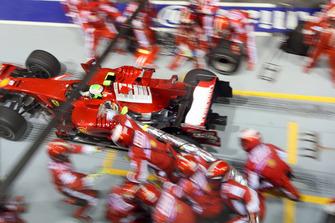 Пит-стоп: Фелипе Масса, Ferrari F2008