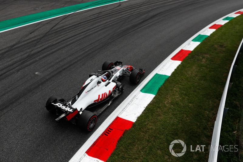 Grosjean qualifies sixth
