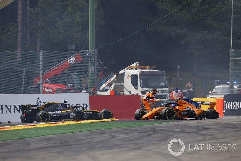 Ніко Хюлькенберг, Renault Sport F1 Team R.S. 18, Фернандо Алонсо, McLaren