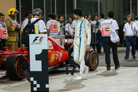 Lance Stroll, Williams in parc ferme