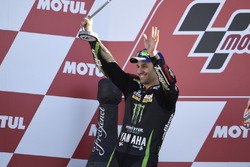 Podium: Johann Zarco, Monster Yamaha Tech 3