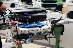 Cosworth engine at the Cosworth Factory in Northampton