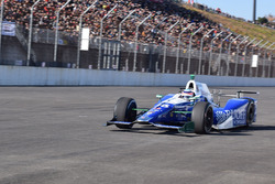 Takuma Sato in his Indy 500 winning Andretti Autosport Honda