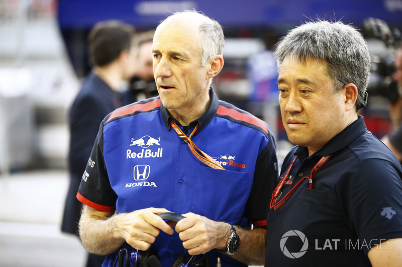 Franz Tost, Takım Patronu, Toro Rosso ve Masashi Yamamoto, Genel Müdür, Honda Motorsport
