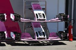 Force India VJM11 nariz y alas delanteras
