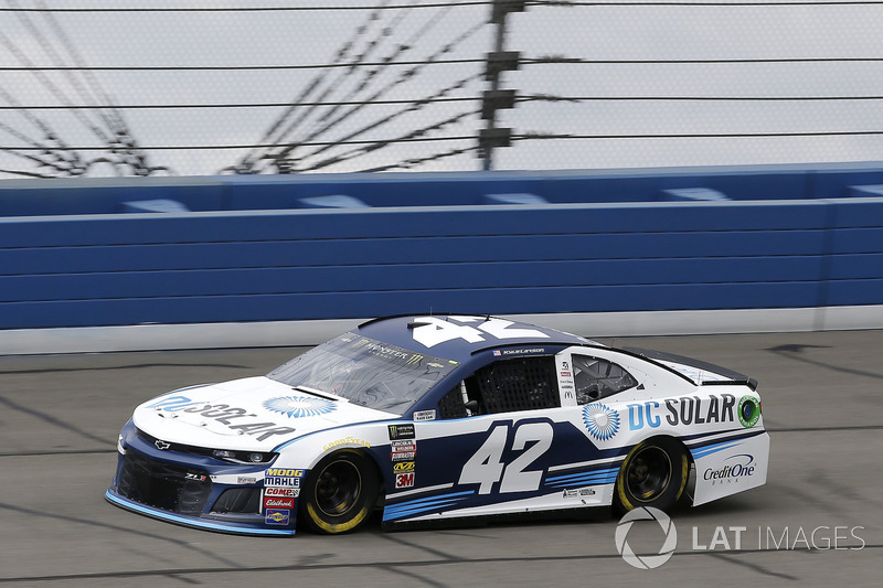 3. Kyle Larson, No. 42 Chip Ganassi Racing Chevrolet Camaro