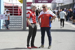 Gigi Dall'Igna, Ducati Team General Manager, Paolo Campinoti, Pramac Racing
