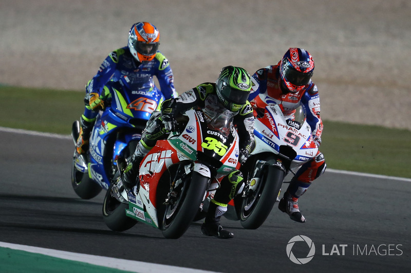 Кел Кратчлоу, Team LCR Honda, Даніло Петруччіi, Pramac Racing, Алекс Рінс, Team Suzuki MotoGP