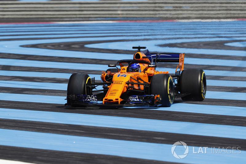 P16: Fernando Alonso, McLaren MCL33