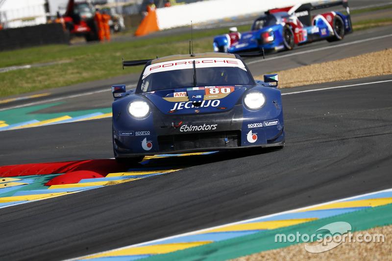 Фабио Бабини, Кристина Нильсен, Эрик Мэрис, Ebimotors, Porsche 911 RSR (№80)