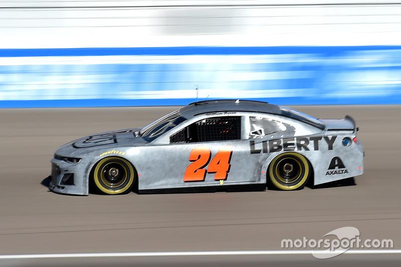 William Byron Hendrick Motorsports Chevrolet A Test Di