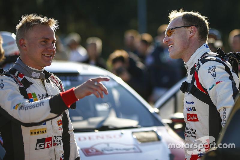 Esapekka Lappi, Toyota Racing, Jari-Matti Latvala, Toyota Racing