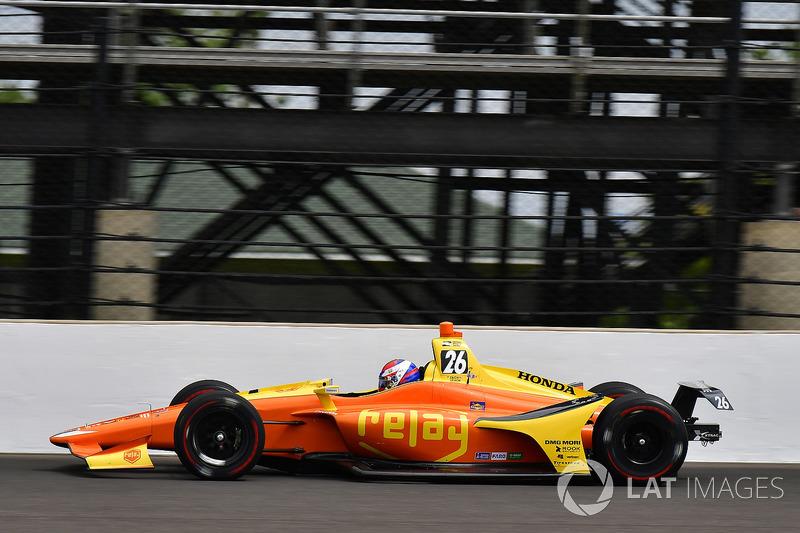 23. Zach Veach, Andretti Autosport, Honda