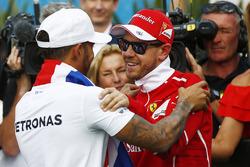 2017 Formula 1 Dünya Şampiyonu Lewis Hamilton, Mercedes AMG F1, Sebastian Vettel, Ferrari