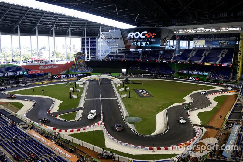 Die Strecke: USA-Premiere für das ROC - im Baseball-Stadion in Miami