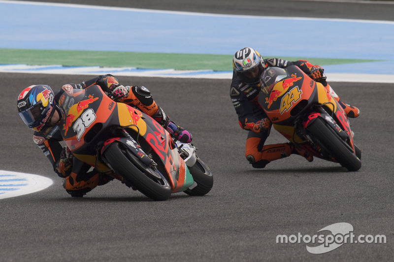 Bradley Smith et Pol Espargaro, Red Bull KTM Factory Racing