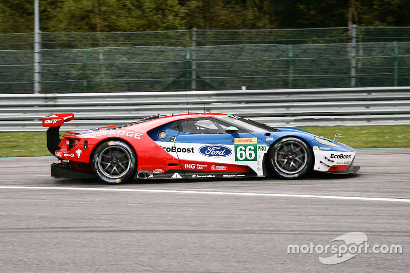#66 Ford Chip Ganassi Racing Ford GT: Olivier Pla, Stefan Mücke, Billy Johnson