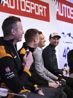 Matt Neal, Gordon Shedden, Colin Turkington and Andrew Jordan