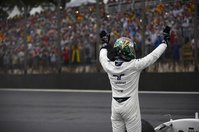 Felipe Massa durante el GP de Brasil