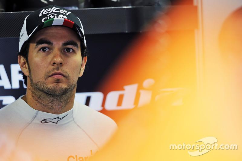 7 місце - Серхіо Перес, Sahara Force India F1