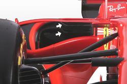 Бічний понтон Ferrari SF70H