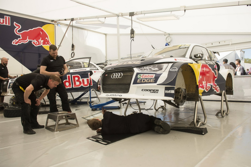 Auto de Mattias Ekström, EKS, Audi S1 EKS RX Quattro