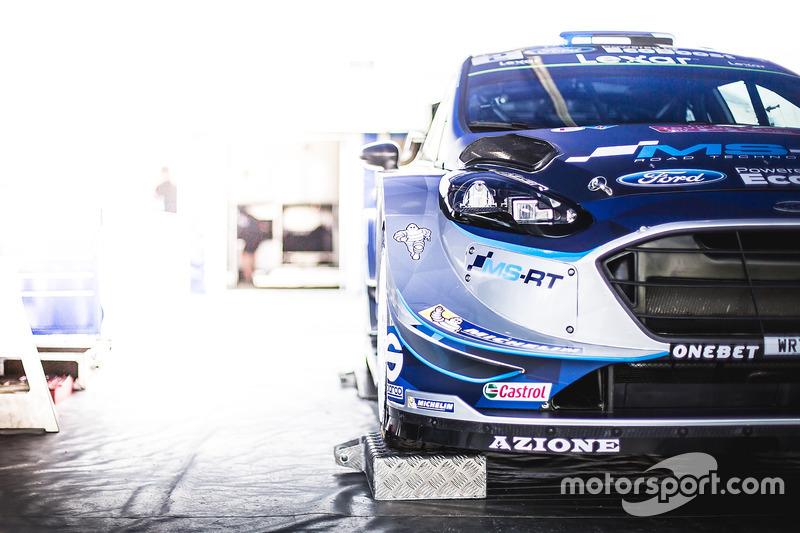 M-Sport Ford Fiesta WRC detail