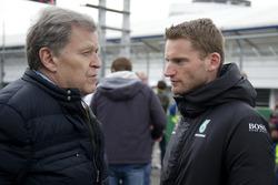 Norbert Haug, ARD; Maro Engel, Mercedes-AMG Team HWA, Mercedes-AMG C63 DTM