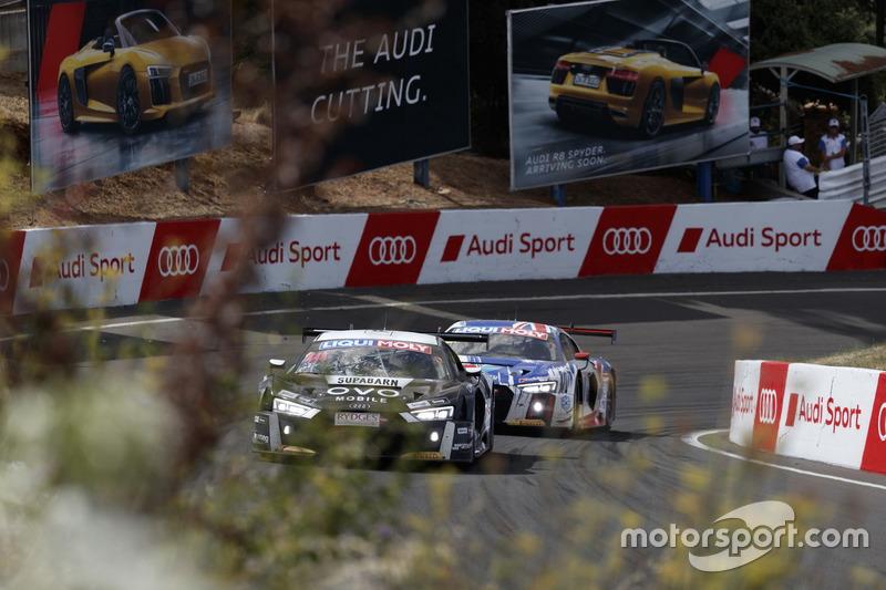 #44 Supabarn, Audi R8 LMS: James Koundouris, Theo Koundouris, Markus Marshall, Simon Evans; #75 Jame