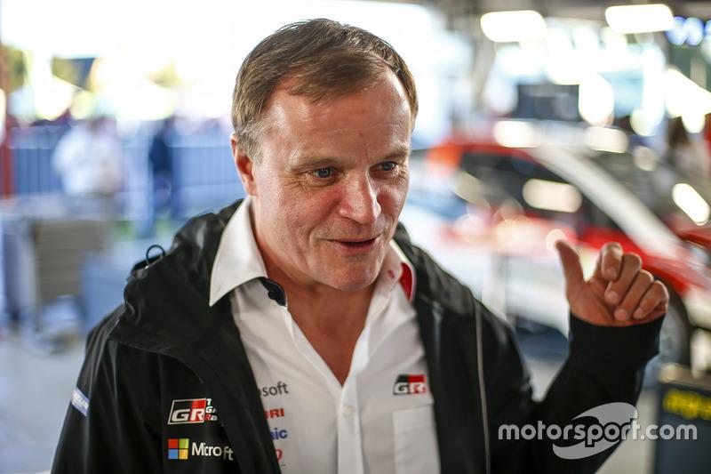 Томмі Мякінен, Toyota Racing