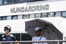 Daniil Kvyat, Scuderia Toro Rosso, Lewis Hamilton, Mercedes AMG F1