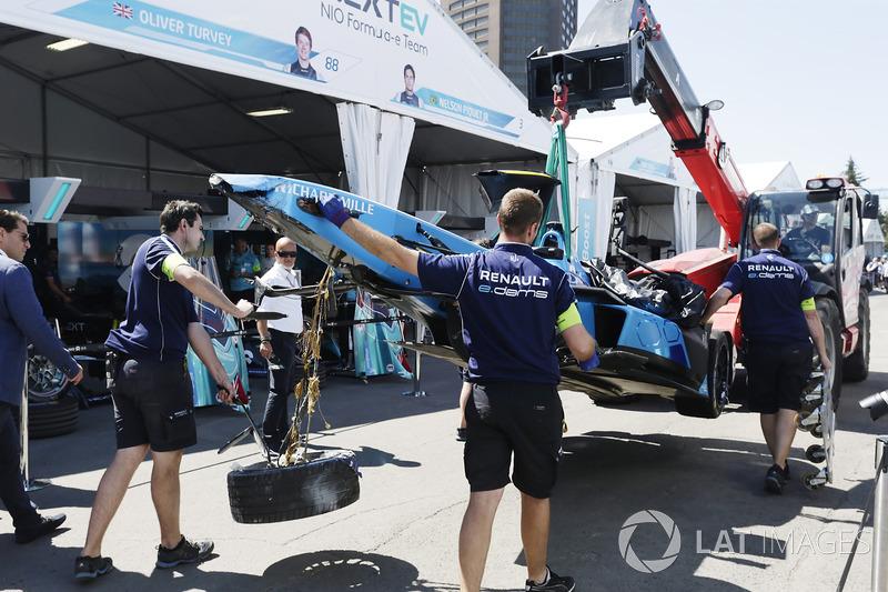 سيارة سيباستيان بويمي، رينو إي.دامس بعد الحادث
