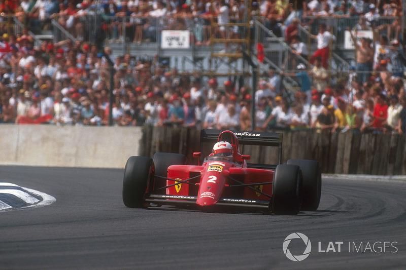 #23: Nigel Mansell, Ferrari 641, Silverstone 1990: 1:07,428