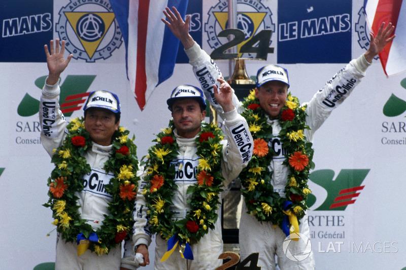1995: Yannick Dalmas, JJ Lehto, Masanori Sekiya