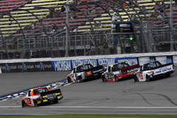 Cody Coughlin, ThorSport Racing Toyota and Christopher Bell, Kyle Busch Motorsports Toyota