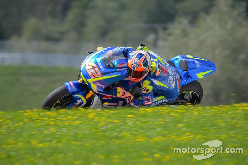 21. Alex Rins, Team Suzuki MotoGP