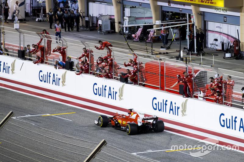 2017. Переможець: Себастьян Феттель, Ferrari