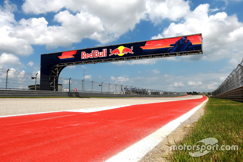 Red Bull track signage